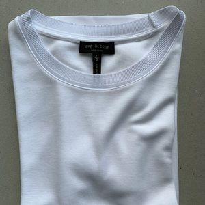 white tee Rag & Bone